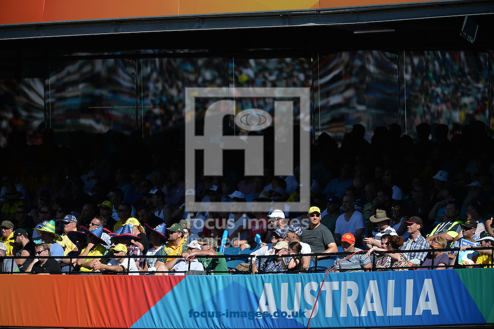 A general view of the MCG during the 2015 ICC Cricket World Cup match at Melbourne Cricket Ground, Melbourne<br /> Picture by Frank Khamees/Focus Images Ltd +61 431 119 134<br /> 14/02/2015