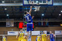 Sebic Milan of KK Tajfun Sentjur during basketball match between KK Sencur  GGD and KK Tajfun Sentjur for Spar cup 2016, on 16th of February , 2016 in Sencur, Sencur Sports hall, Slovenia. Photo by Grega Valancic / Sportida.com