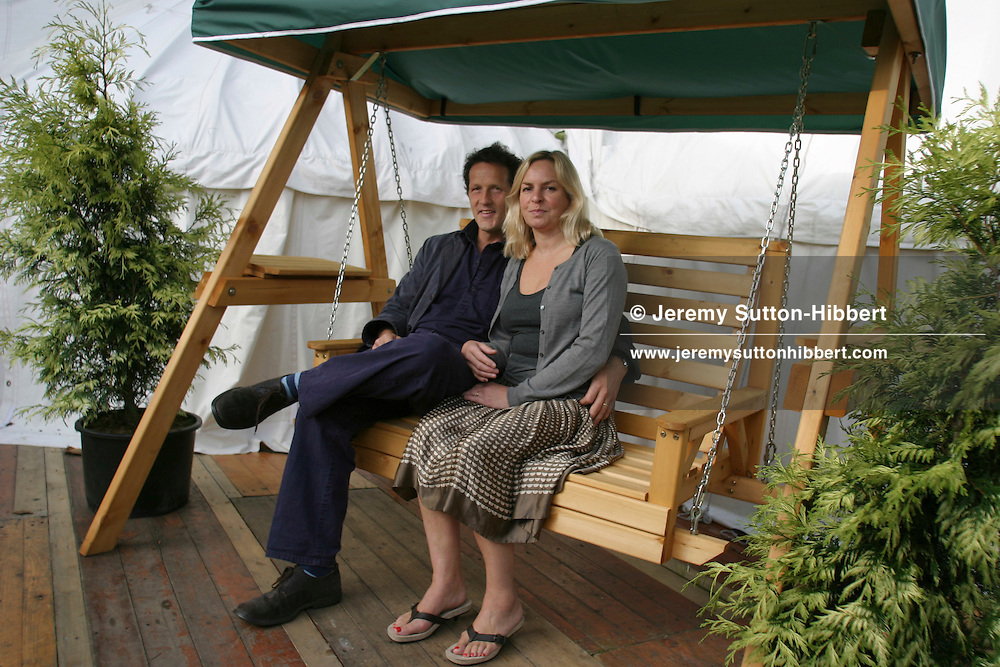 Monty and Sarah Don, leading gardener writer and presenter..(8  pictures, non-exclusive)