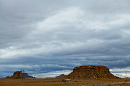 Navajo Nation, New Mexico, north of Shiprock, Navajo Indian housing