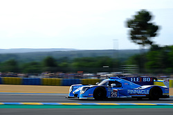June 16, 2018 - Le Mans, Sarthe, France - Algarve PRO Racing LIGIER JSP217 Gibson Driver MARK PATTERSON (USA) in action during the 86th edition of the 24 hours of Le Mans 2nd round of the FIA World Endurance Championship at the Sarthe circuit at Le Mans - France (Credit Image: © Pierre Stevenin via ZUMA Wire)