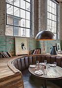 Paladar 511 restaurant at 511 Marigny Street in Faubourg Marigny neighborhood of New Orleans, Louisiana; for Studio WTA architects