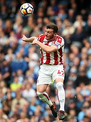 Tom Edwards of Stoke City - Mandatory by-line: Matt McNulty/JMP - 14/10/2017 - FOOTBALL - Etihad Stadium - Manchester, England - Manchester City v Stoke City - Premier League