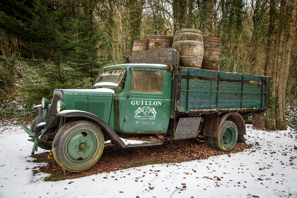 Distillerie Guillon in Louvois, France, January 24, 2015. Gary He/DRAMBOX MEDIA LIBRARY