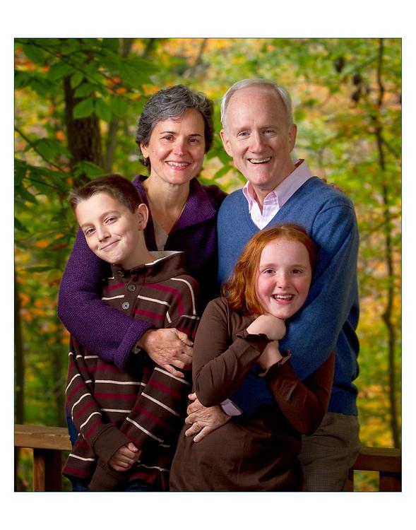 Ross / Kim Schmucki and family. October 22, 2011 © Ed Hille