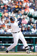DETROIT, MI - MAY 21: Miguel Cabrera #24 of the Detroit Tigers bats during the game against the Houston Astros at Comerica Park on May 21, 2015 in Detroit, Michigan. The Tigers defeated the Astros 6-5 in 11 innings. (Photo by Joe Robbins) *** Local Caption *** Miguel Cabrera