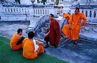 Thailande - <br /> Province de Chiang Mai - Chiang Mai - Wat Suan Dok