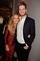 Victoria Lockwood and her son Viscount Althrope at the Tatler's English Roses 2017 party in association with Michael Kors held at the Saatchi Gallery, London England. 29 June 2017.