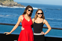 September 22, 2018 - San Sebastian, Spain - Laetitia  Casta (L) and Lily-Rose Depp (R) attend the  A Faithful Man Photocall during the 66th San Sebastian Film Festival in San Sebastian on September 22, 2018 in San Sebastian, Spain. (Credit Image: © Manuel Romano/NurPhoto/ZUMA Press)