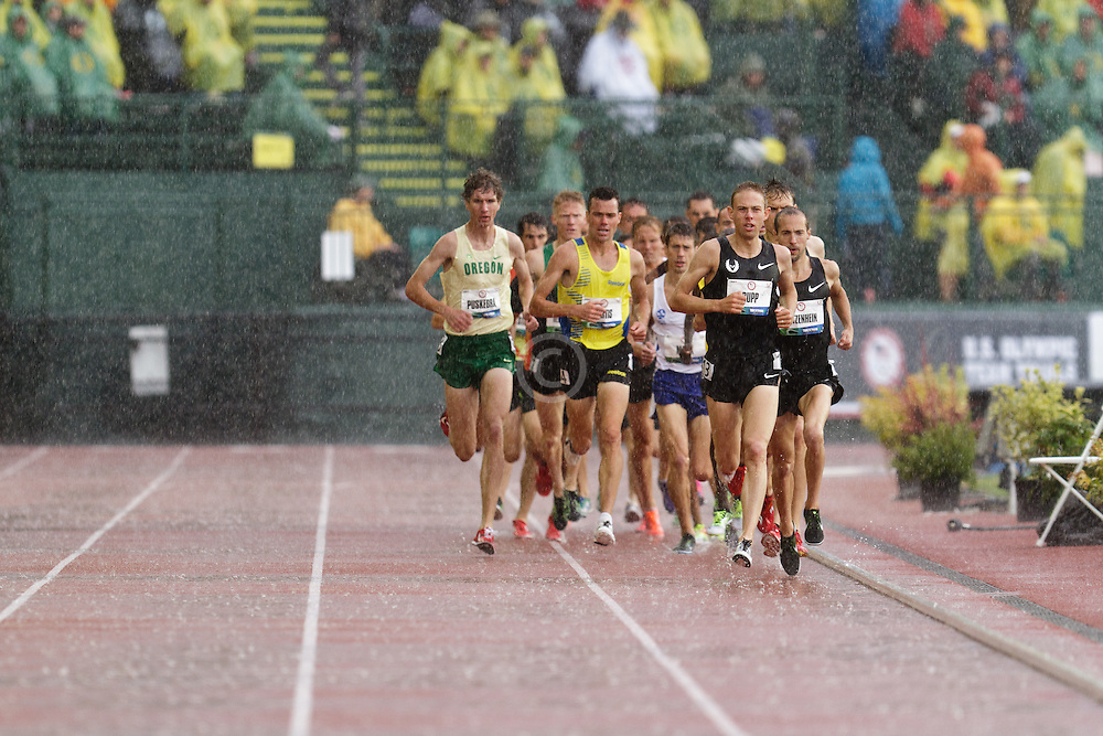 Olympic Trials Eugene 2012: men's 10,000 meter final, Galen Rupp leads on way to win, Olympian