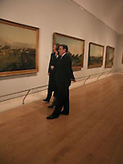 Rt hon Tony Blair MP, Cherie Blair, Chancellor Gerhard Schrodertour the galleries before the opening of  Masterpieces from Dresden at the Royal Academy, London. 12 March 2003. © Copyright Photograph by Dafydd Jones 66 Stockwell Park Rd. London SW9 0DA Tel 020 7733 0108 www.dafjones.com