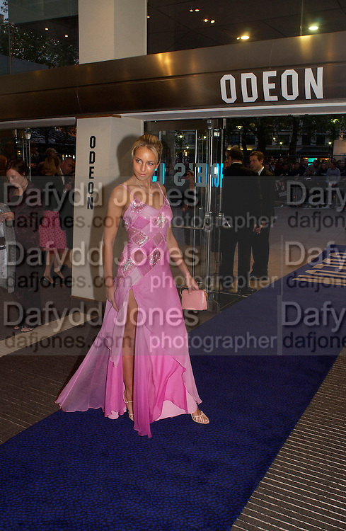 Lady Isabella Hervey, Bright Young Things Royal European charity premiere in Leicester Sq. and party afterwards at  Claridges, 28 September 2003. © Copyright Photograph by Dafydd Jones 66 Stockwell Park Rd. London SW9 0DA Tel 020 7733 0108 www.dafjones.com