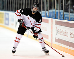 Josh Anderson of the Prince George Cougars represented Team Canada White in the 2014 World Under-17 Hockey Challenge in Sarnia and Lambton, ON November 2-8, 2014. Photo by Aaron Bell/CHL Images