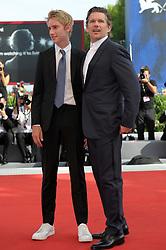 "74th Venice Film Festival, Red Carpet film ""First Reformed""<br />Pictured: Ethan Hawke, Levon Roan Thurman-Hawke"