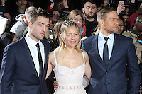Robert Pattinson, Sienna Miller, Charlie Hunnam, The Lost City of Z - UK film premiere, The British Museum, London UK, 16 February 2017, Photo by Richard Goldschmidt