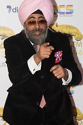 Victoria House, London, April 26th 2016.  Hardeep Singh Kohli photographed at the Jazz FM awards at Victoria House, Bloomsbury, London.