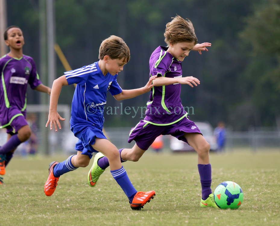 10 October 2015. Mandeville, Louisiana.<br /> New Orleans Jesters Youth Academy.<br /> U10 team Purple take on Gulf Coast United (Gold). Jesters emerge victorious.<br /> Photo©; Charlie Varley/varleypix.com