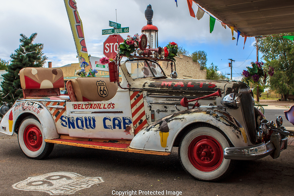 Visit days gone by, on Rt 66 in Seligman, Az