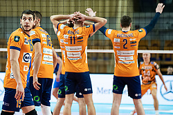 Vilimanovic Andrija of ACH Volley during volleyball match between ACH Volley Ljubljana (SLO) and Kuzbas Kemerevo (RUS) n 2nd Round, group B of 2019 CEV Volleyball Champions League, on December 11, 2019 in Hala Tivoli, Ljubljana, Slovenia. Grega Valancic / Sportida