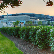 Sporting Park, sports stadium for Sporting Kansas City Major League Soccer club, Kansas City, Kansas. Taken on assignment for Performance Automotive.