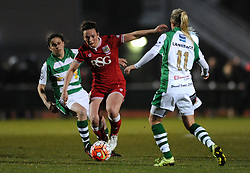 Chloe Arthur of Bristol City Women - Mandatory by-line: Dougie Allward/JMP - Mobile: 07966 386802 - 23/03/2016 - FOOTBALL - Stoke Gifford Stadium - Bristol, England - Bristol City Women v Yeovil Town Ladies - FA Women's Super League 2