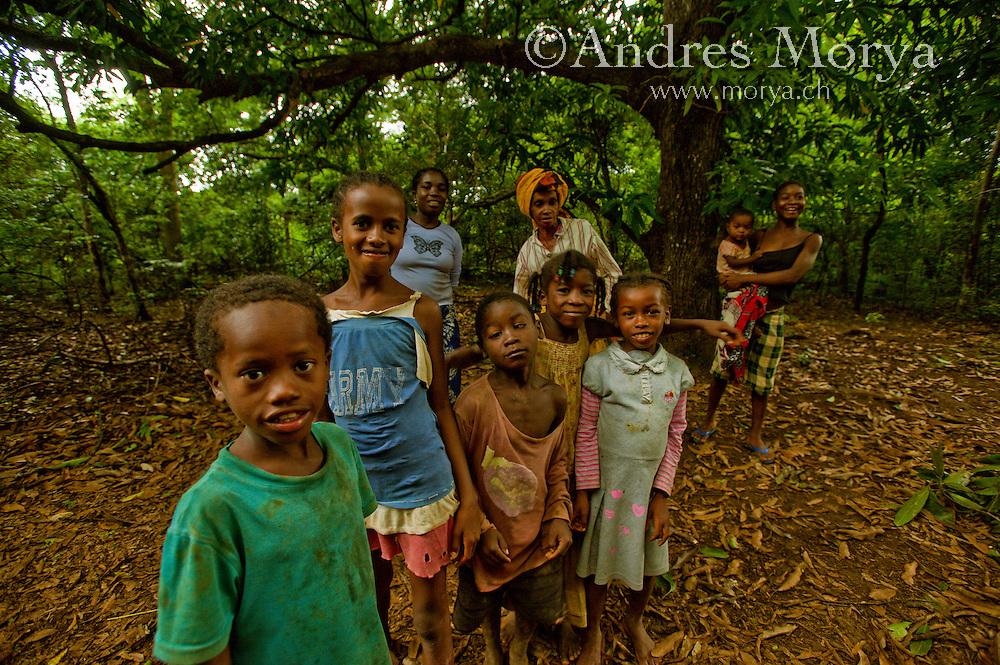 Malagasy family, Ankarana, Madagascar Image by Andres Morya