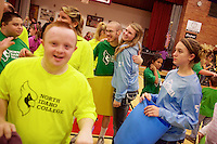 North Idaho Avalanche supporting the 2nd annual Special Needs Basketball Tournament at North Idaho College on Wednesday, Oct. 23, 2013.