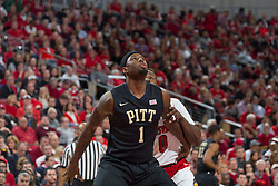Pittsburgh forward Jamel Artis. <br /> <br /> The University of Louisville hosted the University of Pittsburgh, Wednesday, Feb. 11, 2015 at Yum Center in Louisville. <br /> <br /> Photo by Jonathan Palmer