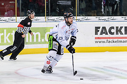 16.12.2016, Arena Nuernberger Versicherung, Nuernberg, GER, DEL, Thomas Sabo Ice Tigers vs Straubing Tigers, 28. Runde, im Bild Maury Edwards (23, Straubing Tigers) // during the German DEL Icehockey League 28th round match between Thomas Sabo Ice Tigers and Straubing Tigers at the Arena Nuernberger Versicherung in Nuernberg, Germany on 2016/12/16. EXPA Pictures © 2016, PhotoCredit: EXPA/ Eibner-Pressefoto/ Hahn<br /> <br /> *****ATTENTION - OUT of GER*****