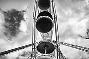 I made this image at the Jolly Roger Amusement Park before the park opened for the season. <br /> <br /> Ocean City, MD - 2016