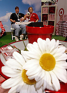 Keturah Henley and Martha Wilson, both from Georgia have their picture taken at the Target booth in the Expo hall Tuesday at the 146th Annual Meeting for the National Education Association at the Walter E. Washington Convention Center July 1,2008. (Scott Iskowitz/ RA TODAY) 2008