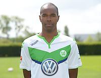 German Soccer Bundesliga 2015/16 - Photocall of VfL Wolfsburg on 16 July 2015 at the Volkswagen-Arena in Wolfsburg, Germany: Naldo