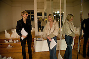 Isabella Macpherson; Sigrid Wilkinson, Private view: Atlantis by Gayle Chong Kwan, Hosted by Pia Getty, . 29 Thurloe Place, SW7. London. 11 Nov emebr 2008<br />