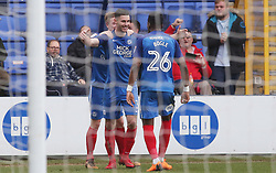 Andrew Hughes of Peterborough United celebrates scoring the opening goal of the game - Mandatory by-line: Joe Dent/JMP - 10/03/2018 - FOOTBALL - ABAX Stadium - Peterborough, England - Peterborough United v Charlton Athletic - Sky Bet League One