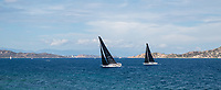 ADELASIA DI TORRES and SPECTRE during the Rolex Maxi Cup 2017, Costa Smeralda, Porto Cervo Yacht Club Costa Smeralda (YCCS).