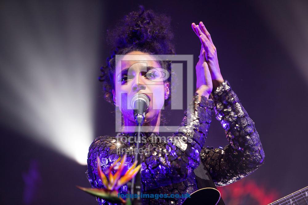 Lianne La Havas live at O2 Brixton Acadamy, Brixton<br /> Picture by Ryan Dinham/Focus Images Ltd +44 7900 436859<br /> 14/12/2015