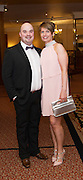 At the SCSI, (Society of Chartered Surveyors Ireland) - Western Region Annual Dinner 2016 in the Ardilaun Hotel Galway were Tony Wallace, Connacht Property Auctions and Claire Ann Lyons . Photo:Andrew Downes, xpousre