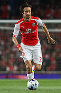 Tomas Rosicky of Arsenal during the Capital One Cup match at the Emirates Stadium, London<br /> Picture by David Horn/Focus Images Ltd +44 7545 970036<br /> 23/09/2014