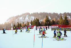 Course inspection prior to the Men's Slalom - Pokal Vitranc 2014 of FIS Alpine Ski World Cup 2013/2014, on March 9, 2014 in Vitranc, Kranjska Gora, Slovenia. Photo by Matic Klansek Velej / Sportida
