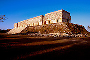 MEXICO, MAYAN, YUCATAN Uxmal; the Governor's Palace