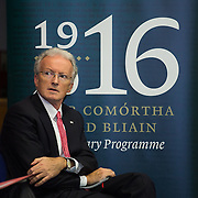 08/12/2015                <br /> Limerick City & County Council launches Ireland 2016 Centenary Programme<br /> <br /> An extensive programme of events across the seven programme strands of the Ireland 2016 Centenary Programme was launched at the Granary Library, Michael Street, Limerick, last night (Monday, 7 December 2015) by Cllr. Liam Galvin, Mayor of the City and County of Limerick.<br /> <br /> Led by Limerick City & County Council and under the guidance of the local 1916 Co-ordinator, the programme is the outcome of consultations with interested local groups, organisations and individuals who were invited to participate in the planning and implementation of events and initiatives during 2016.  <br /> <br /> Pictured at the event was Michael O'Reilly, 2016 Office Dublin. Picture: Alan Place