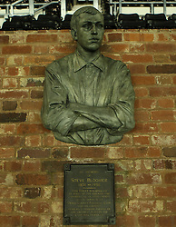 The bust of Steve Bloomer - Photo mandatory by-line: Robbie Stephenson/JMP - Mobile: 07966 386802 - 17/03/2015 - SPORT - Football - Derby - iPro Stadium - Derby County v Middlesbrough - Sky Bet Championship