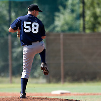 Baseball - MLB European Academy - Tirrenia (Italy) - 21/08/2009 - Valerio Simone (Italy)
