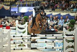 Bitter Eva, (GER), Perigueux<br /> Champion von München<br />  Jumping München 2015<br /> © Hippo Foto - Stefan Lafrentz