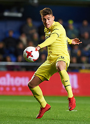 November 30, 2017 - Vila-Real, Castellon, Spain - Daniel Raba Fernandez of Villarreal CF during the Copa del Rey, Round of 32, Second Leg match between Villarreal CF and SD Ponferradina at Estadio de la Ceramica on november 30, 2017 in Vila-real, Spain. (Credit Image: © Maria Jose Segovia/NurPhoto via ZUMA Press)