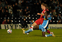 Photo: Richard Lane.<br />Wycombe Wanderers v Swindon Town. Coca Cola League 2. 26/09/2006. <br />Swindon's Royce Brownie scores a goal.
