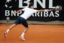 27-04-2010 TENNIS: ATP MASTERS: ROME<br /> Roger Federer (SUI)<br /> ©2010- FRH nph / A. Baldassarre