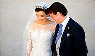 Prins Felix en Prinses Claire van Luxemburg huwelijk  in Saint Maximin la Sainte Baume