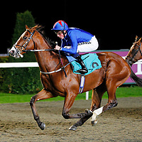 Never to Be and William Buick winning the 8.20 race