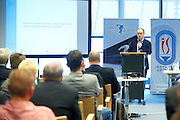 Horacy Debowski from The Educational Research Institute (IBE) speaks during conference Trainers Academy for trainers and coaches at National Stadium in Warsaw on September 30, 2014.<br /> <br /> Poland, Warsaw, September 30, 2014<br /> <br /> Picture also available in RAW (NEF) or TIFF format on special request.<br /> <br /> For editorial use only. Any commercial or promotional use requires permission.<br /> <br /> Mandatory credit:<br /> Photo by &copy; Adam Nurkiewicz / Mediasport